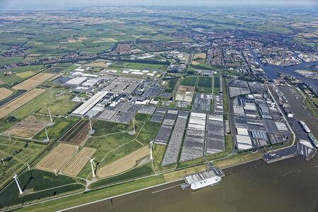 Luftaufnahme Volkswagenwerk