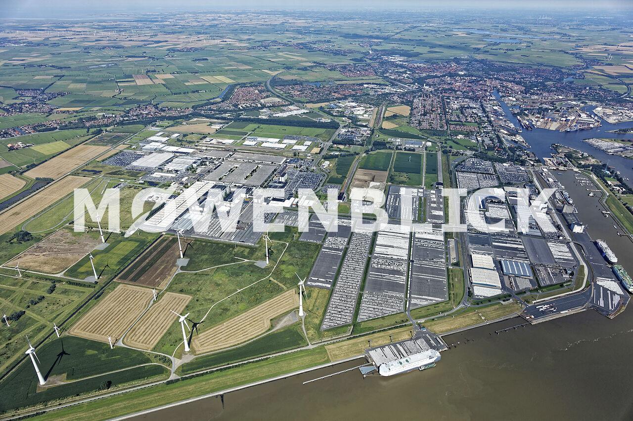 Volkswagenwerk Luftbild
