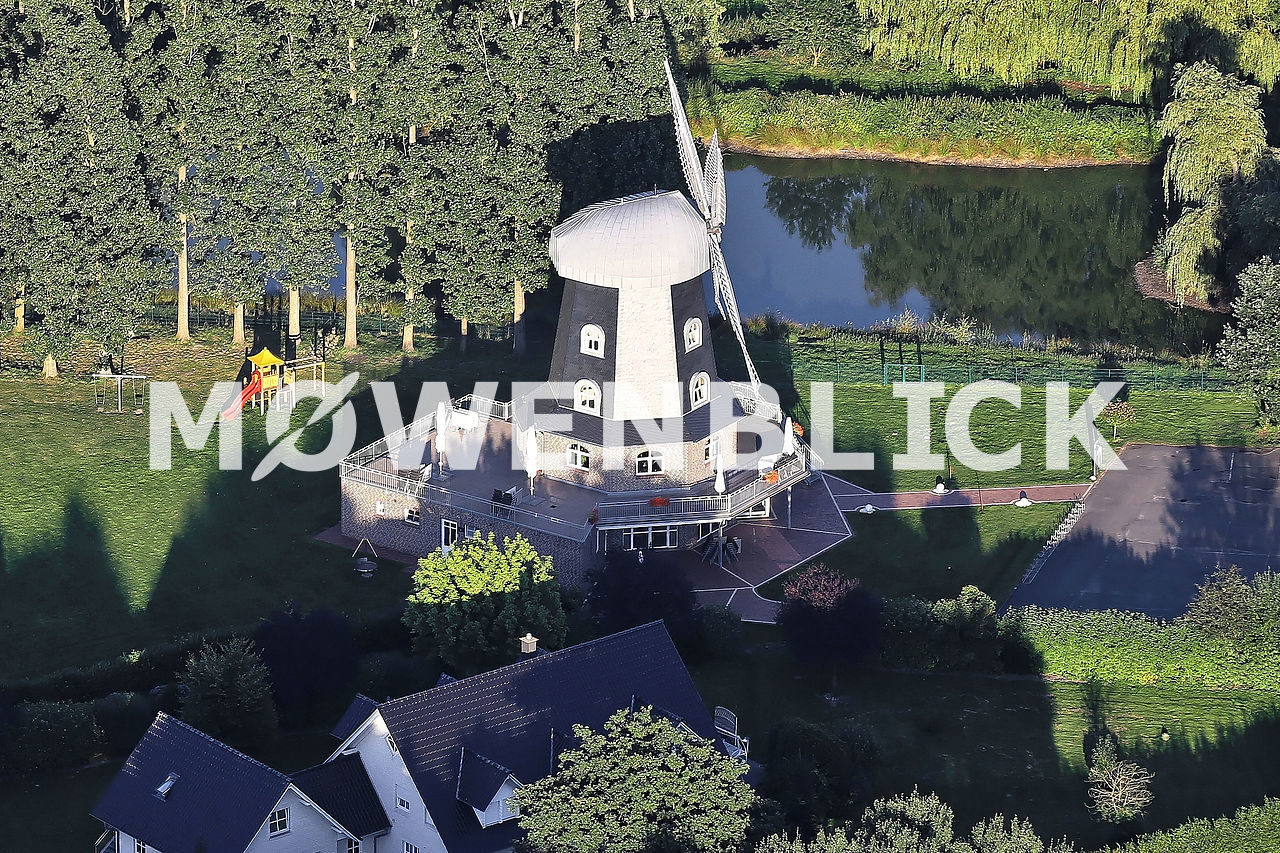 Spredaer Mühle Luftbild