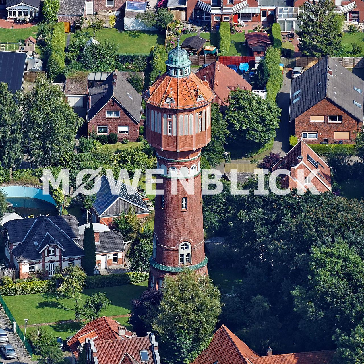Wasserturm Luftbild