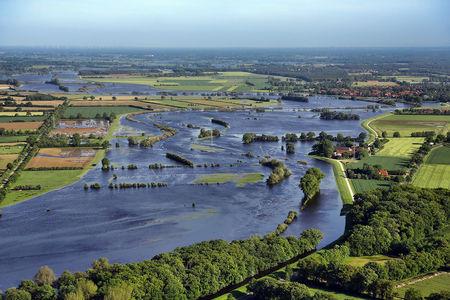Überschwemmung Aller