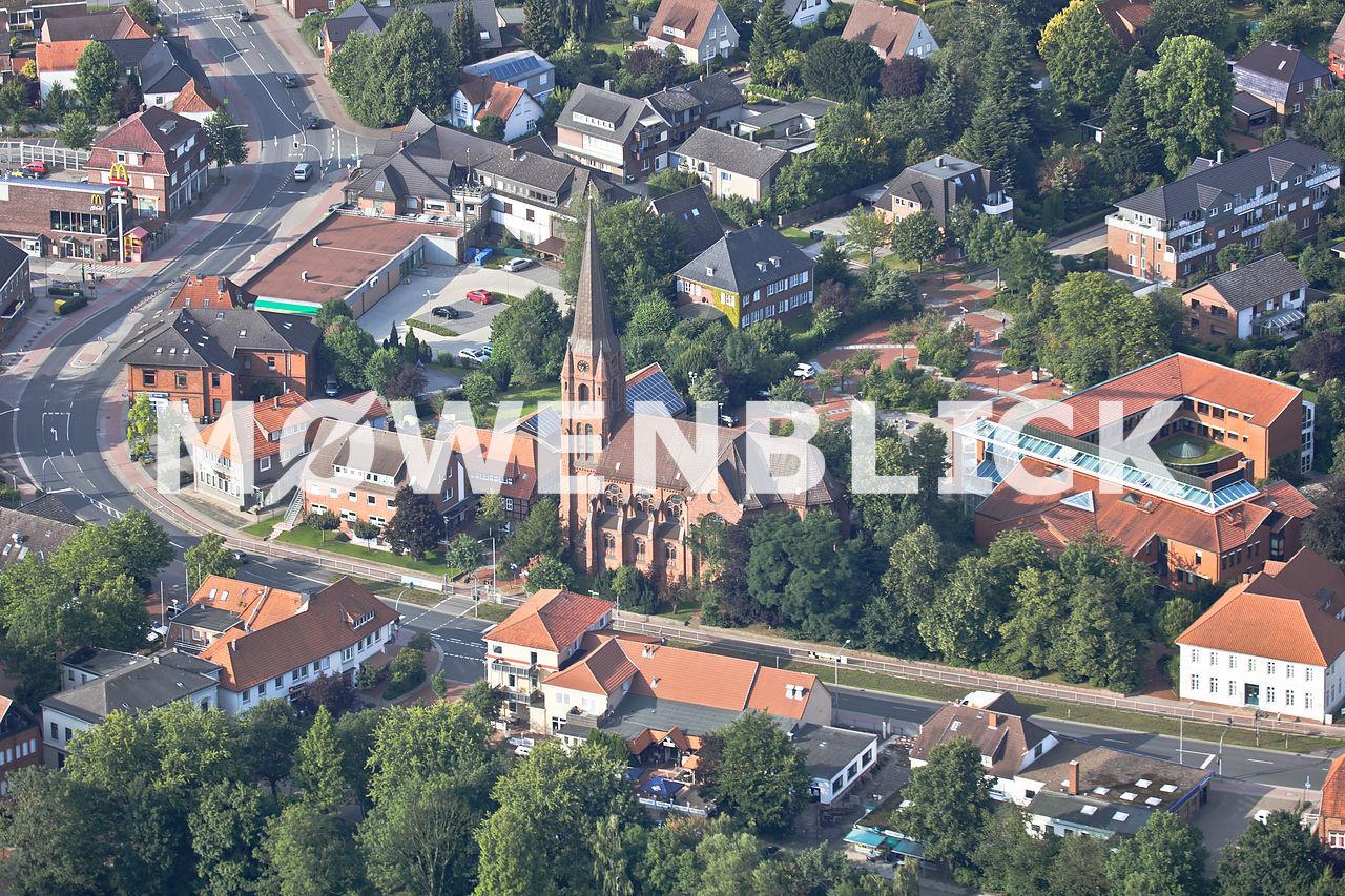Christus Kirche Luftbild