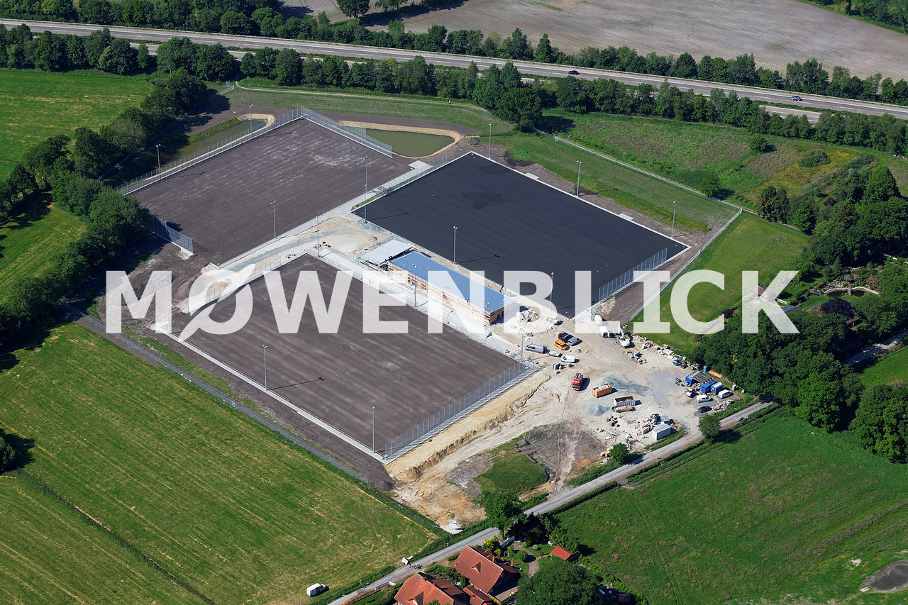 Sportanlage am Köttersweg Luftbild