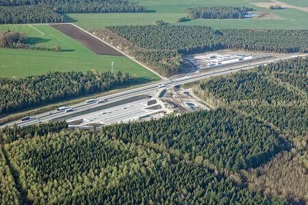Luftaufnahme Rastplatz Kellersteine Engelmannsbäke
