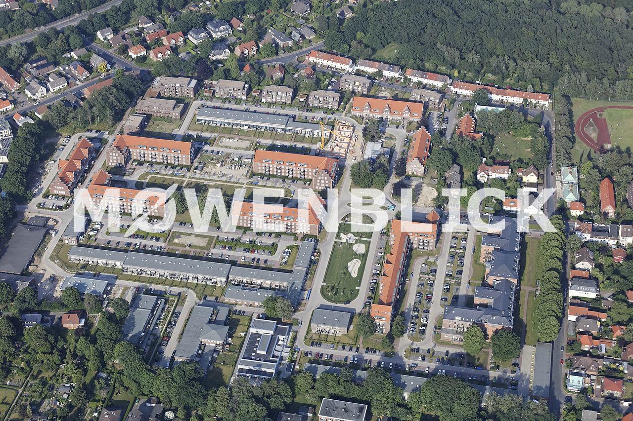 Kaserne Baugebiet Luftbild