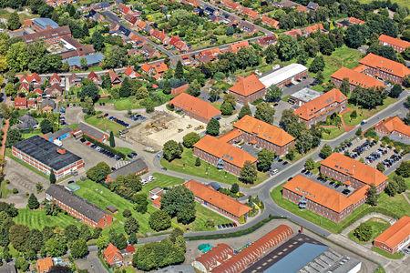 Luftaufnahme Evenburg Kaserne