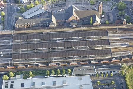 Gleishalle Bahnhof
