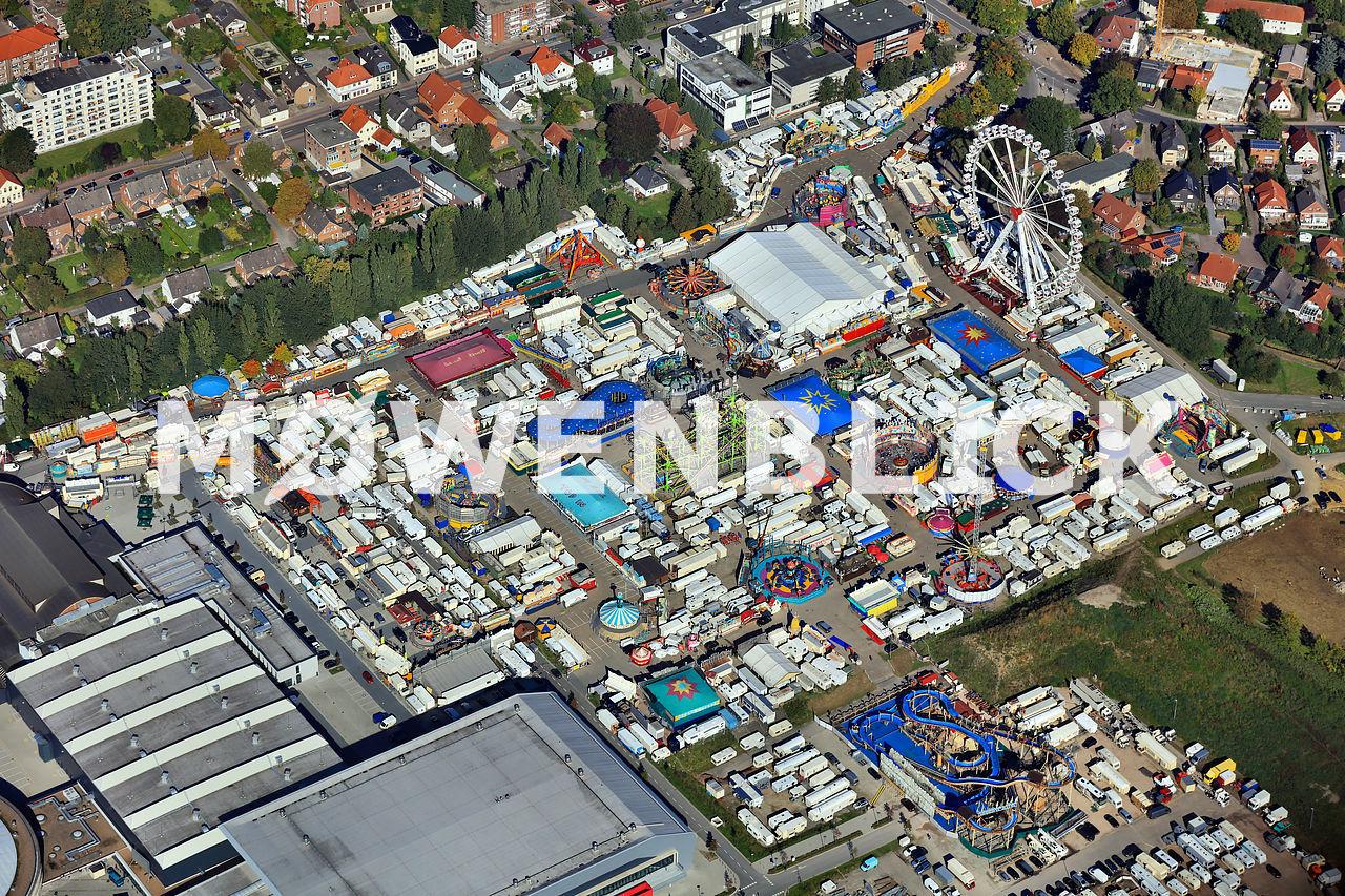 Kramermarkt Oldenburg 2015 Luftbild