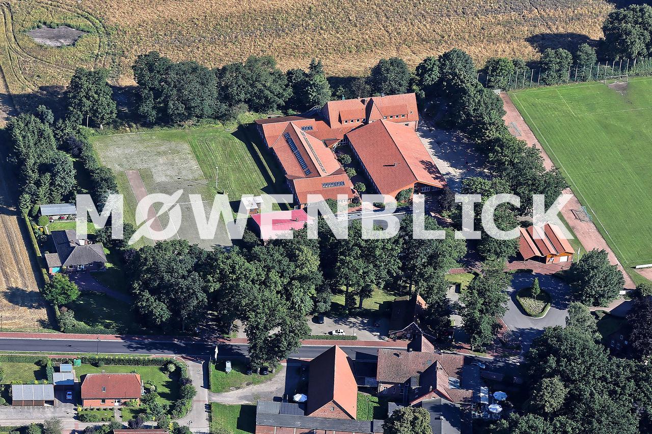 Grundschule Huntlosen Luftbild