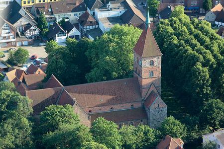Luftaufnahme Alexanderkirche