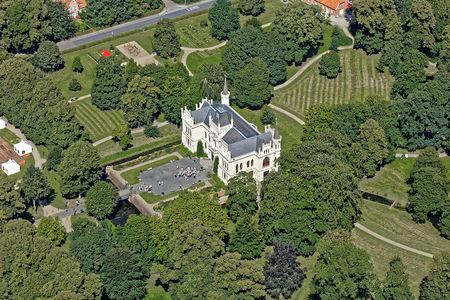 Luftaufnahme Evenburger Park