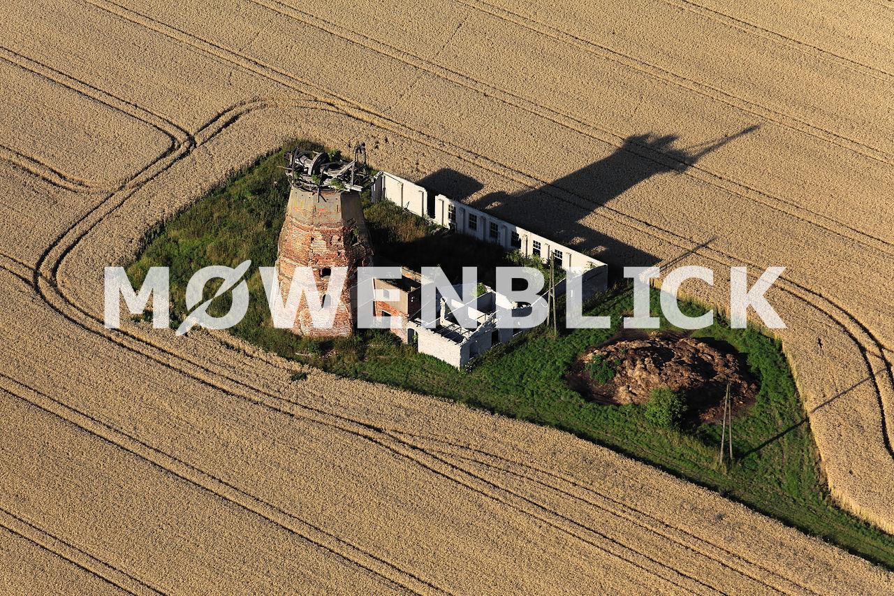 Windmühle Hinterm Dorf Luftbild
