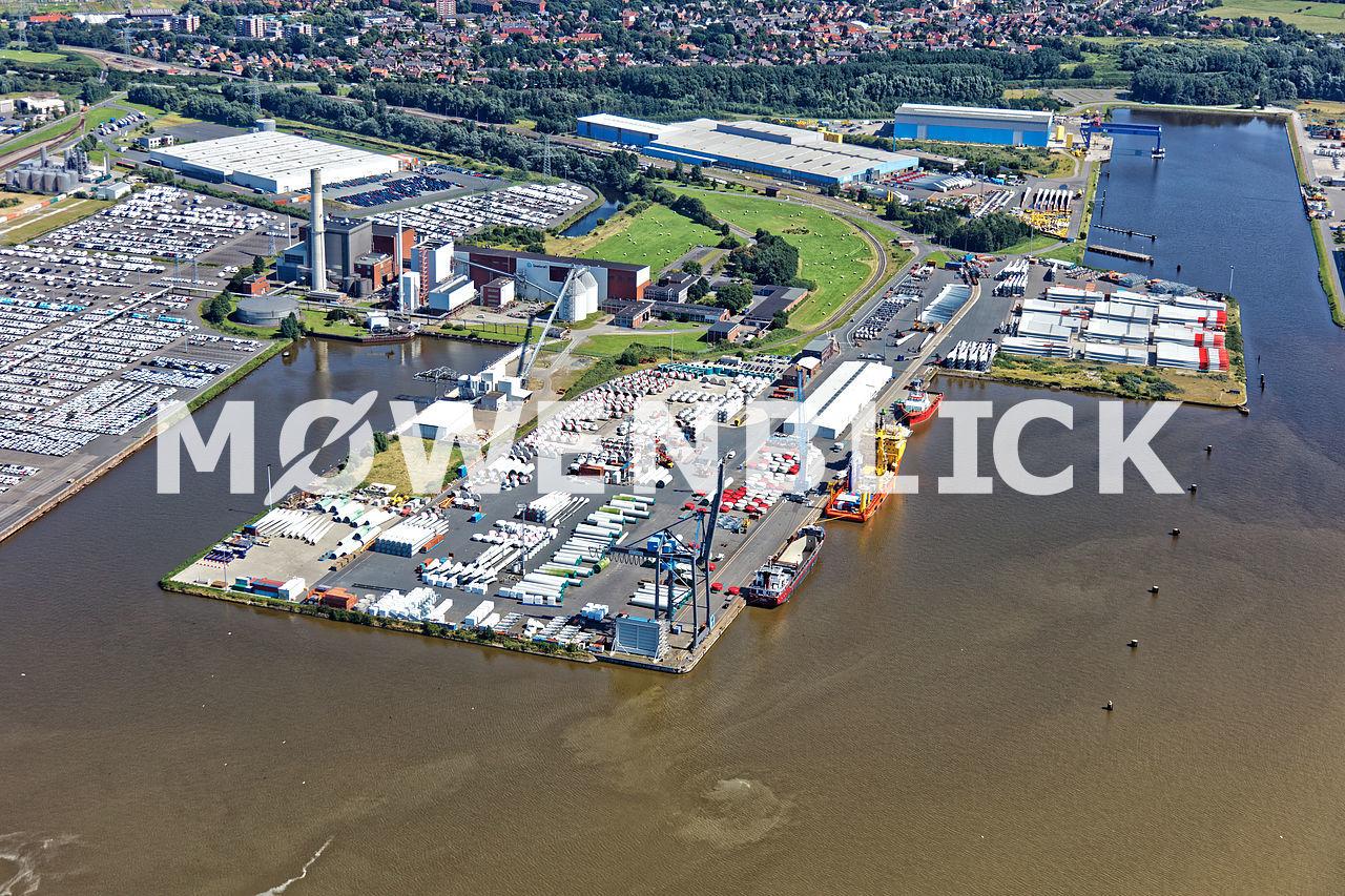 Hafen EPAS Luftbild