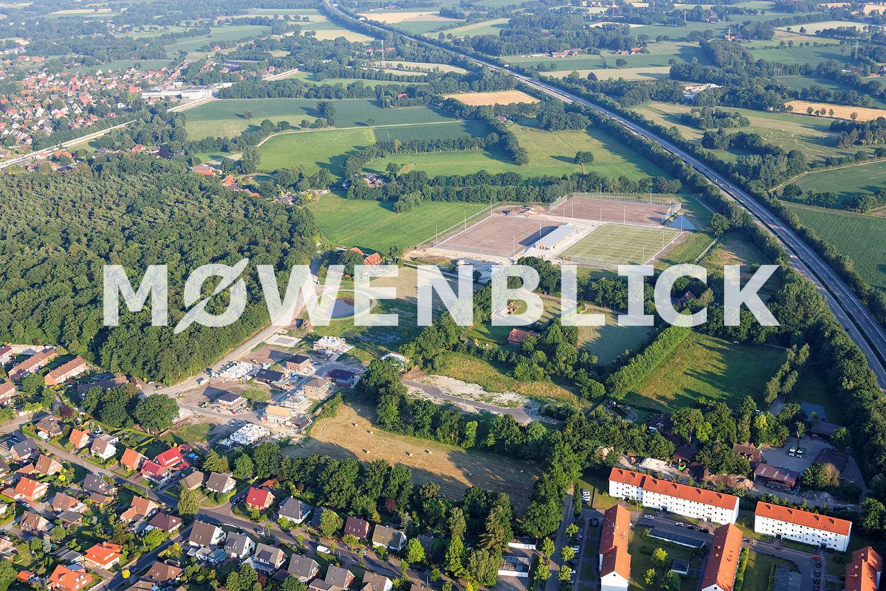 Am Stratjebusch Kötterweg Luftbild
