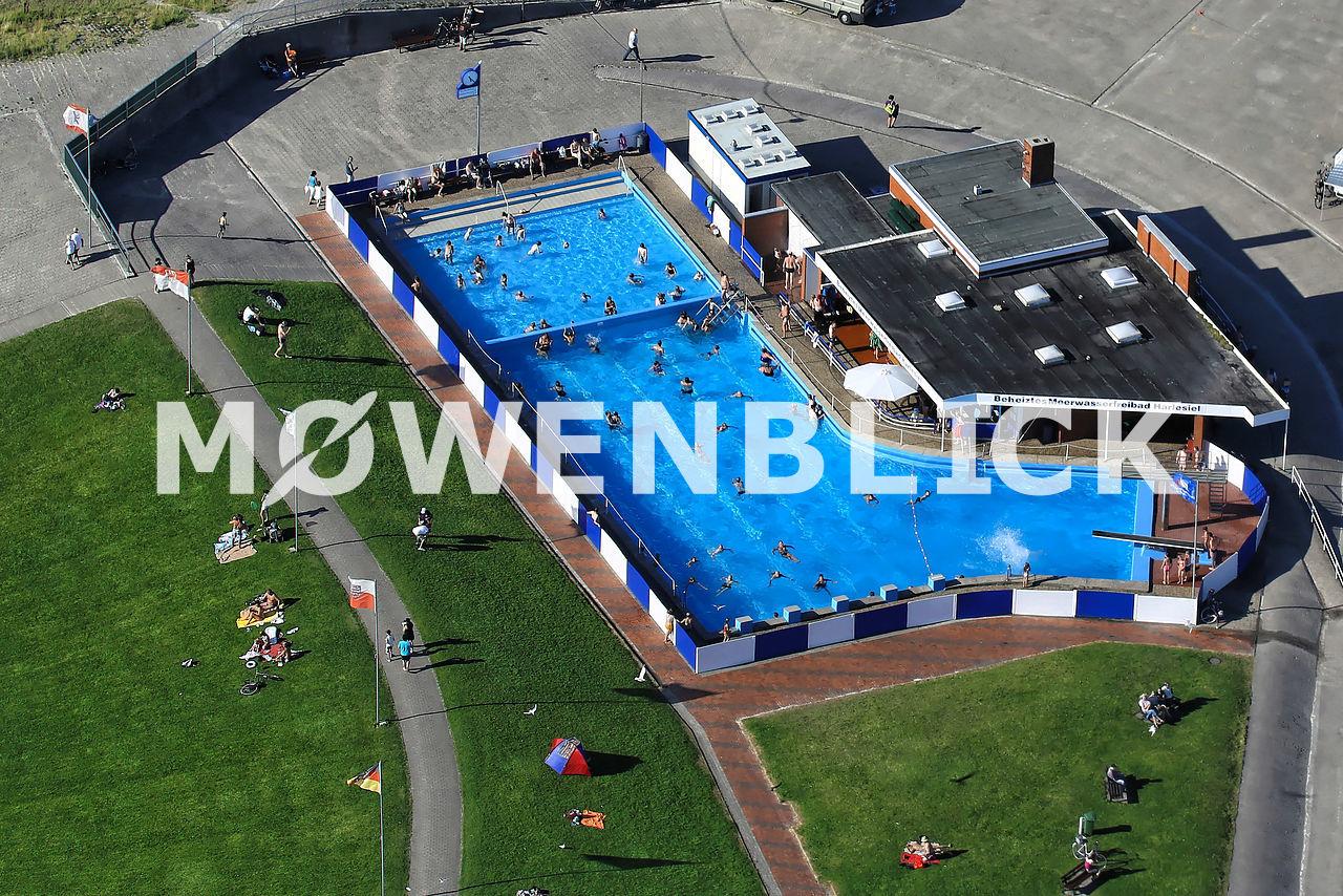 Meerwasserschwimmbad Luftbild
