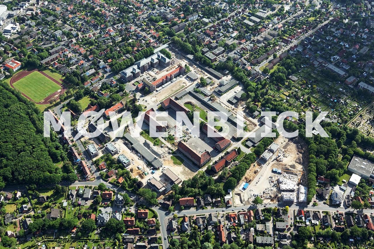 Donnerschwee Kaserne Luftbild