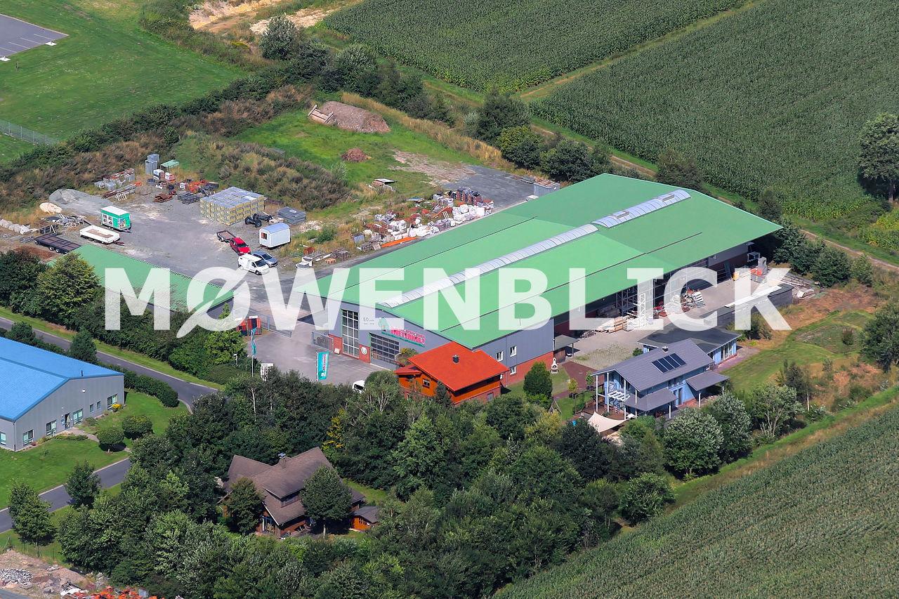 Bauunternehmen Meyerholz Luftbild
