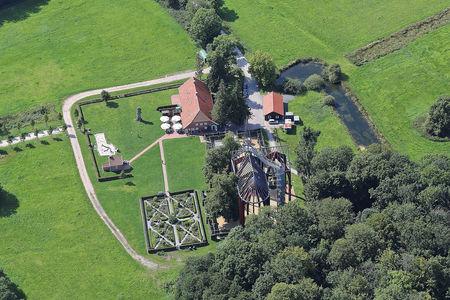 Luftaufnahme Kloster Ihlow