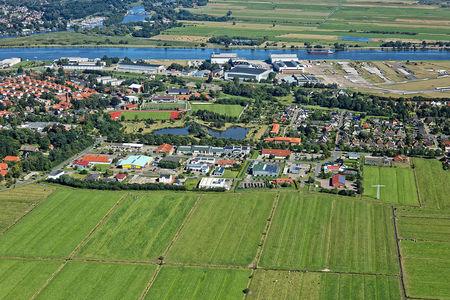 Luftaufnahme Gewerbegebiet Hansering