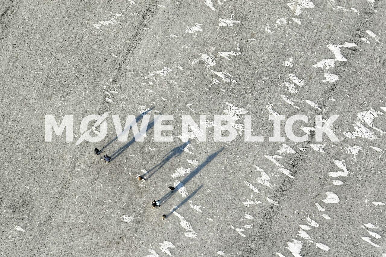 Eisläufer Luftbild