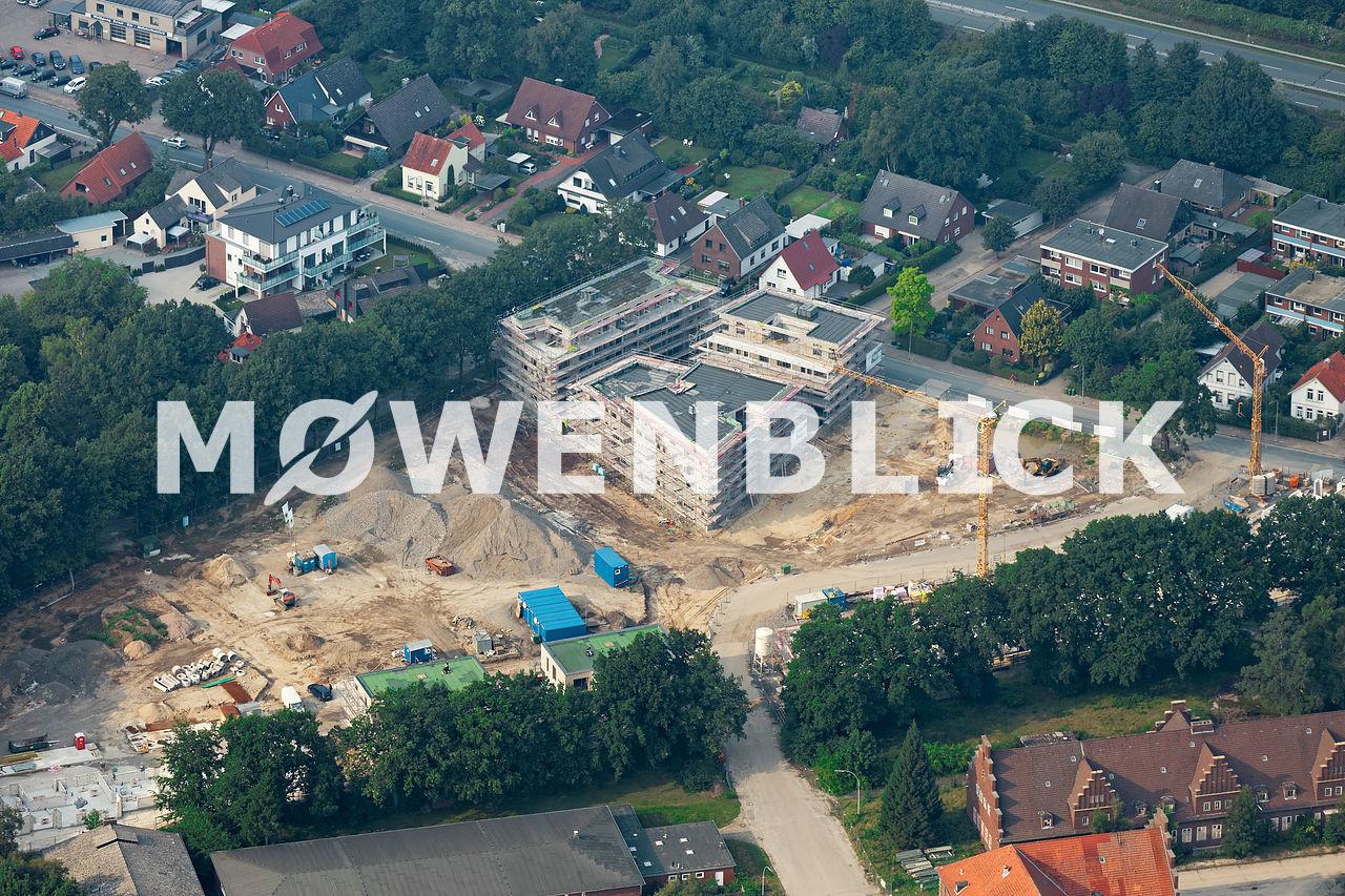Kaserne Bebauung Donnerschwee Luftbild