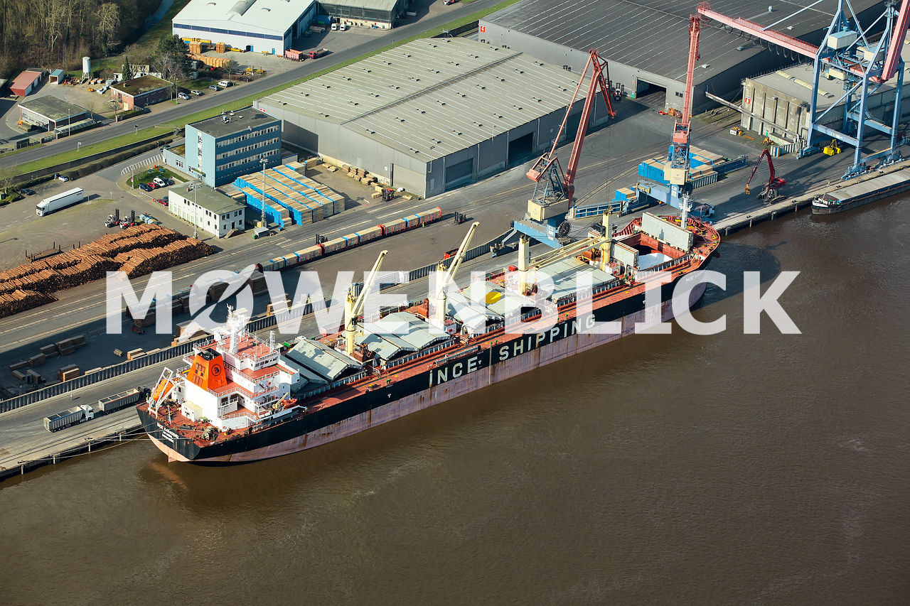 INCE SHIPPING Luftbild