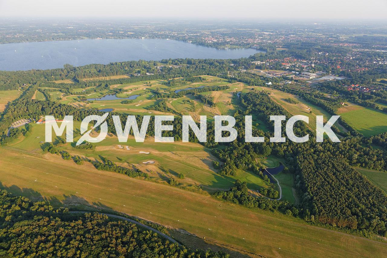 Golfclub am Meer Luftbild
