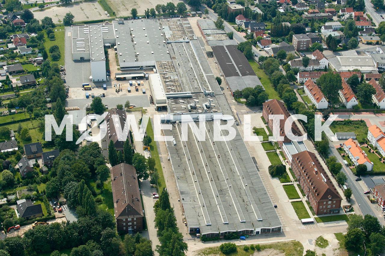 AEG Gelände Luftbild
