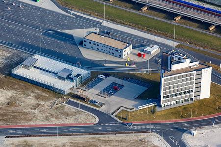Luftaufnahme JadeWeserPort