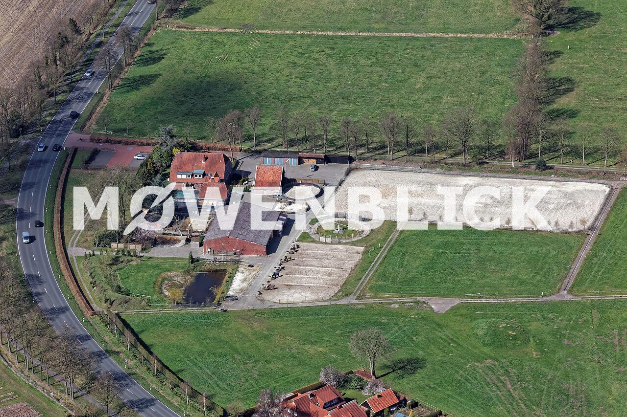 Reiterhof Luftbild