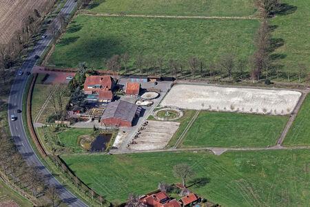Luftaufnahme Reiterhof