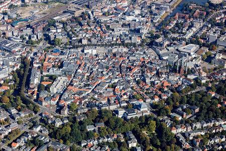 gesamte Innenstadt von Oldenburg