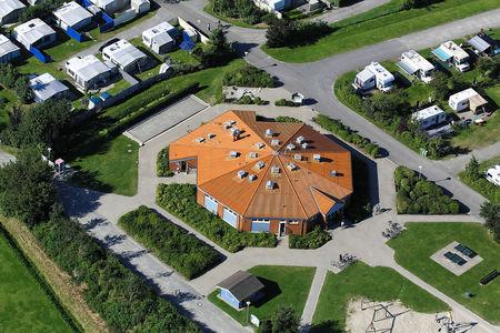 Luftaufnahme Campingplatz Norddeich