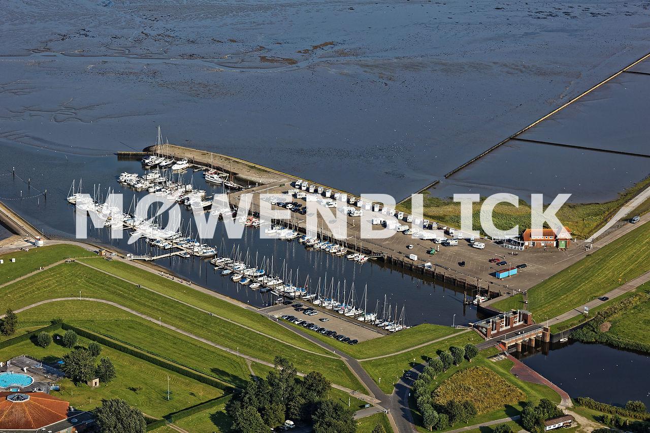 Yachthafen Horumersiel Luftbild