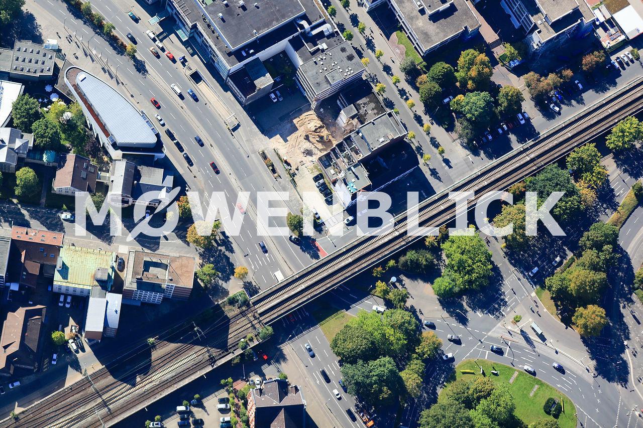 Bahnstrecke Pferdemarkt Luftbild