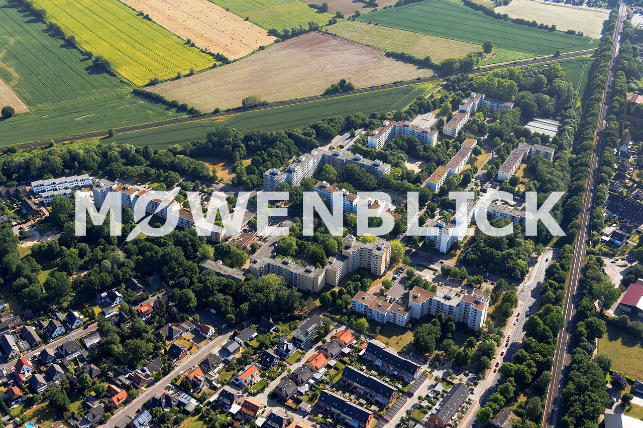 Schneidhainer Straße Luftbild