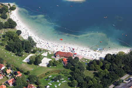 Luftaufnahme Strand