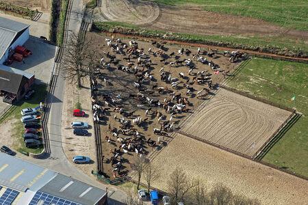 Luftaufnahme Reiterhof Junkern-Beel