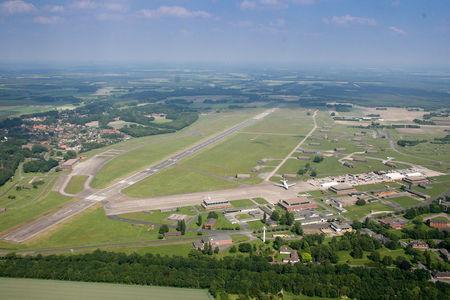 Luftaufnahme Gewerbegebiet