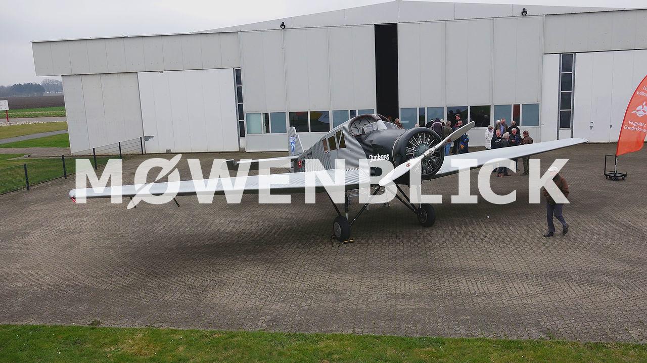 Junkers F 13 HB-RIM Luftbild