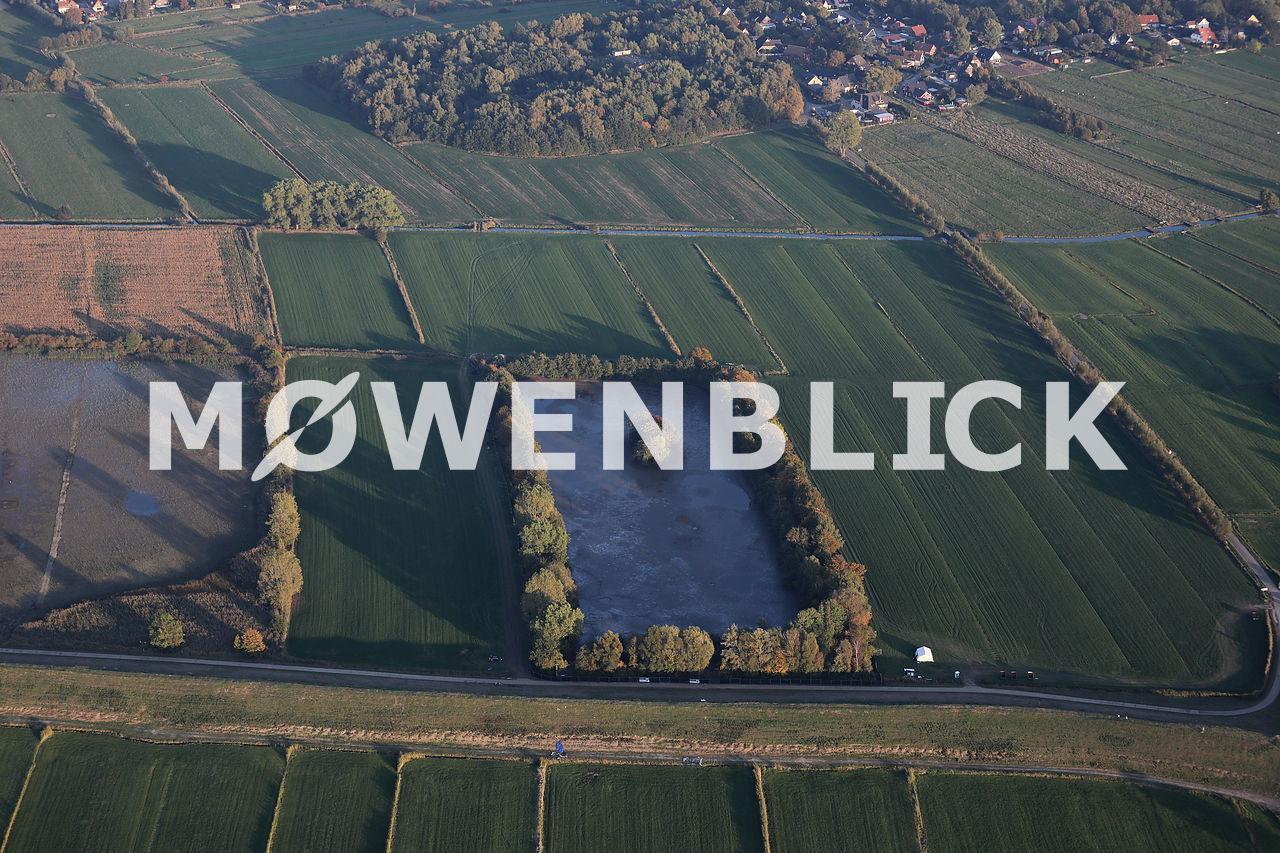 Abpumpen Tietjensee Luftbild