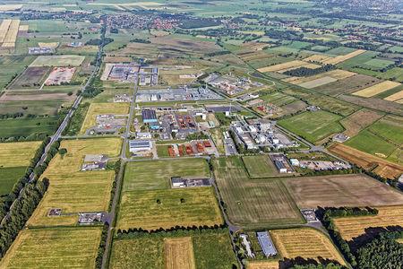 Luftaufnahme Friedeburg Etzel