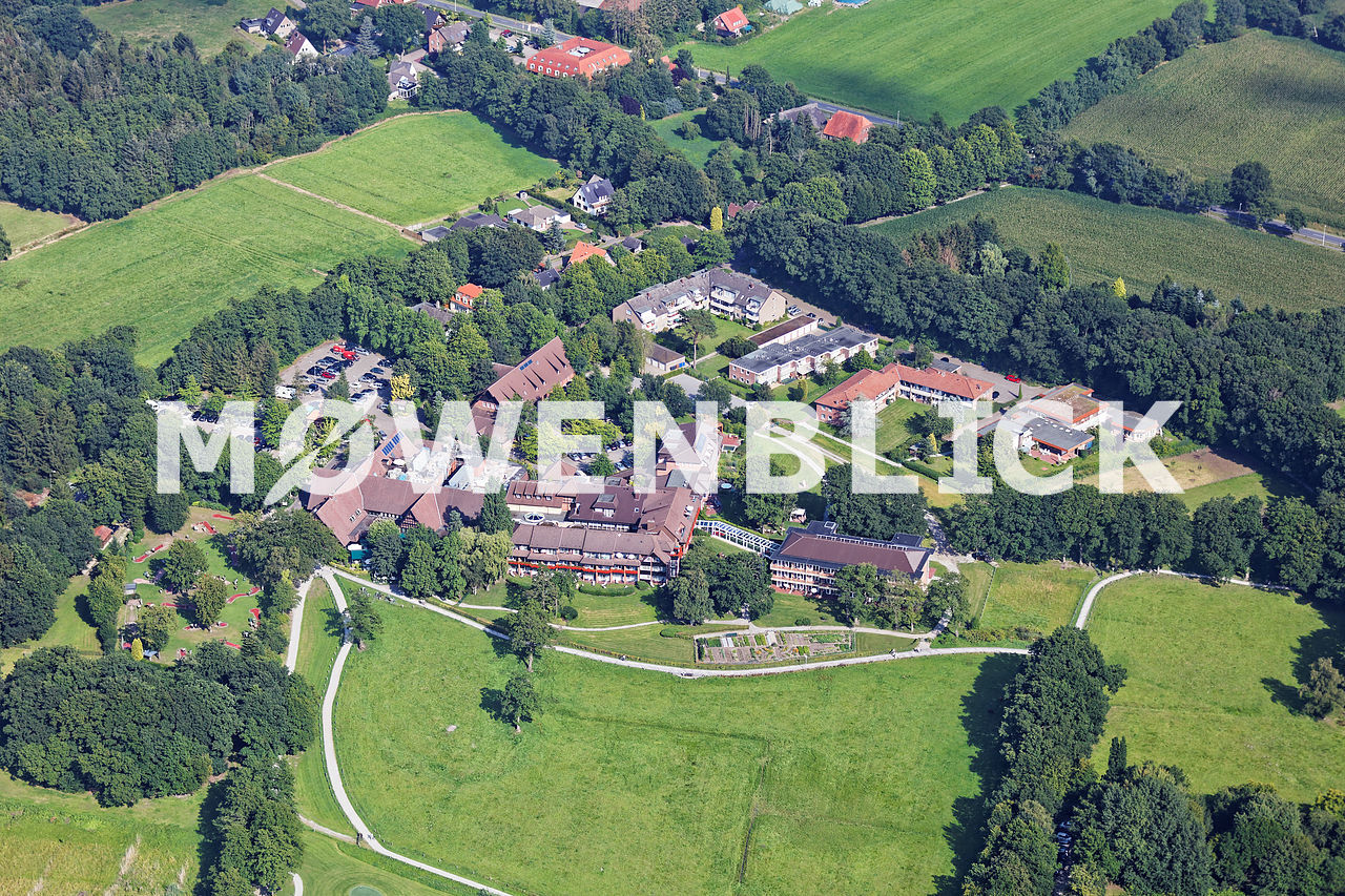 Jagdhaus Eiden Luftbild