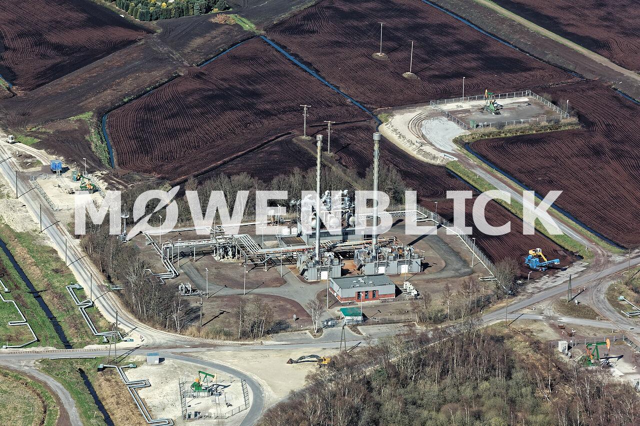 Exxon Rühlermoor Luftbild