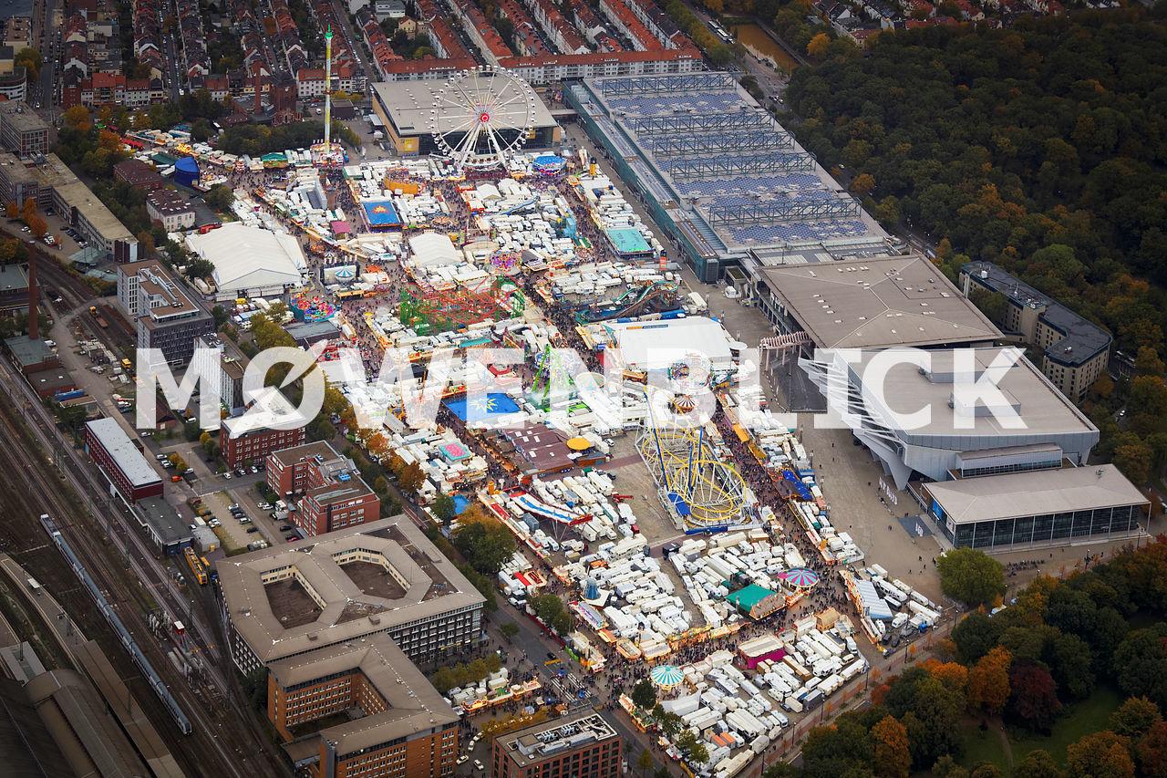 Bremer Freimarkt 2015 Luftbild