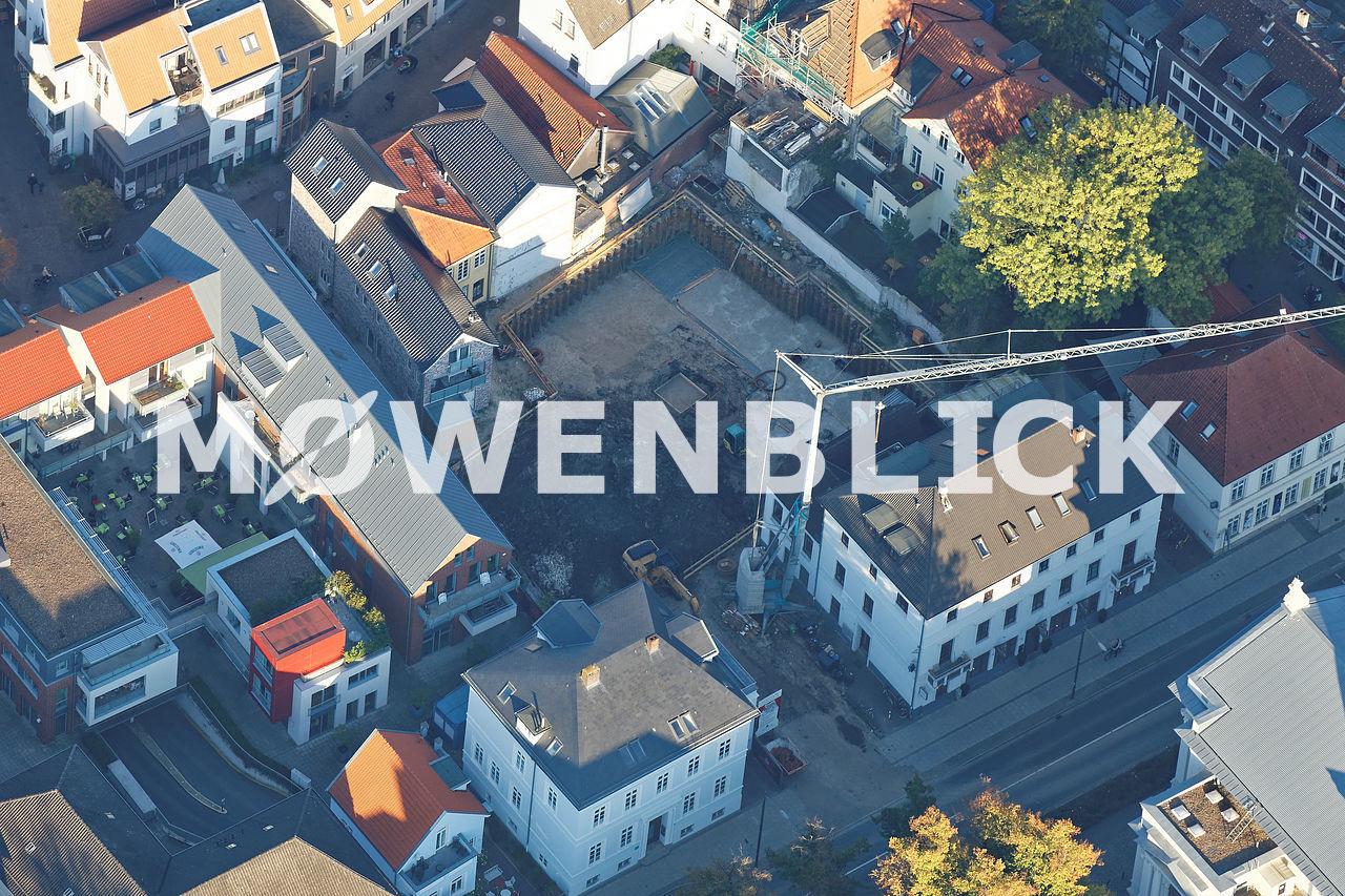 Baustelle Burgstraße Luftbild