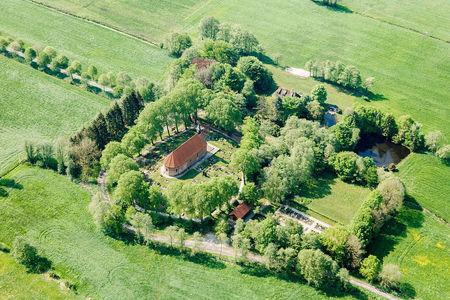 Luftaufnahme St. Dionysius Kirche