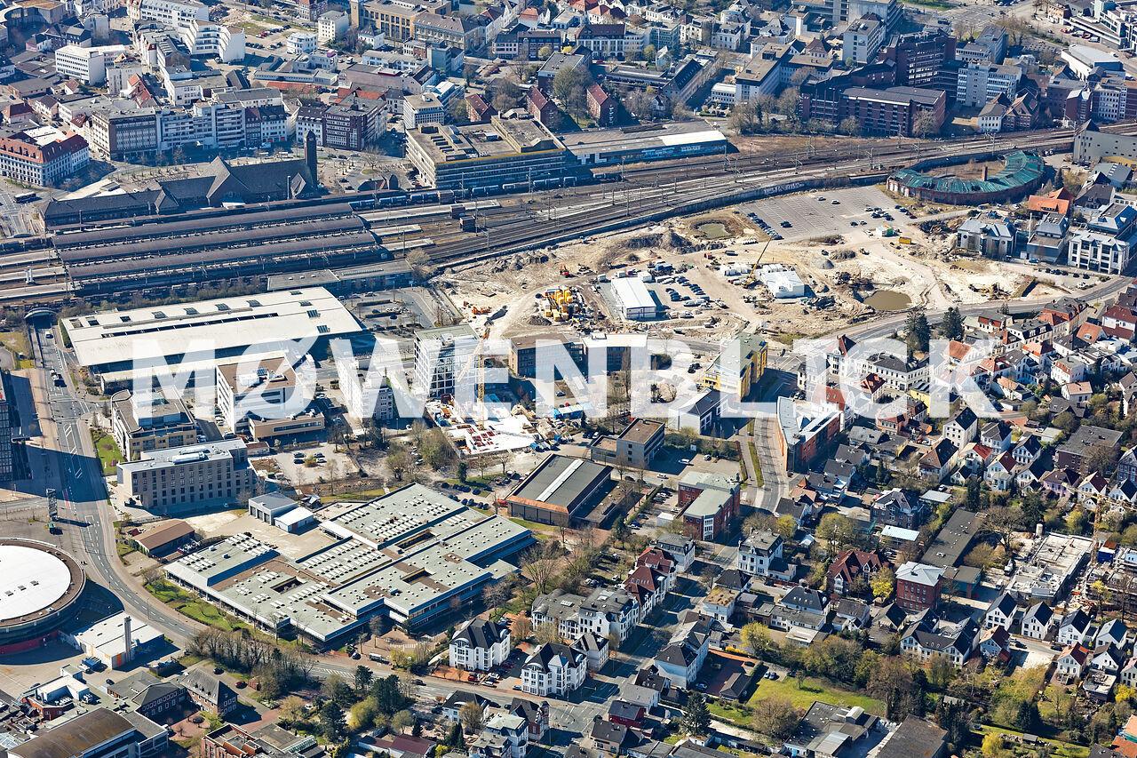 EWE Planungsgebiet Luftbild