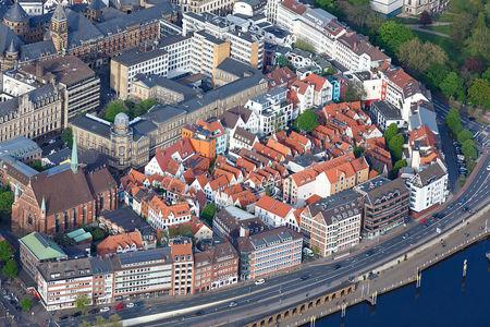 Luftaufnahme Stadtansicht