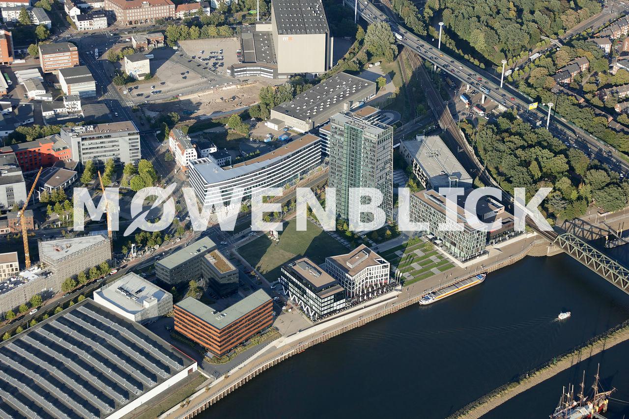 Wesertower Steigenberger Luftbild